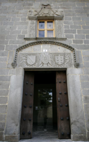 Puerta de entrada al palacio de los Verdugo o de Suero del Águila. Foto: avilaturismo.com