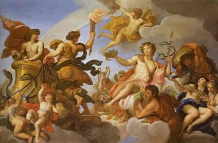 Carlo Maratta: Alegoría del Verano y del Otoño, 1680. Colección particular