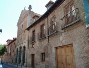 Fachada exterior del Convento de las Trinitarias Descalzas. Foto: Wikimedia Commons.