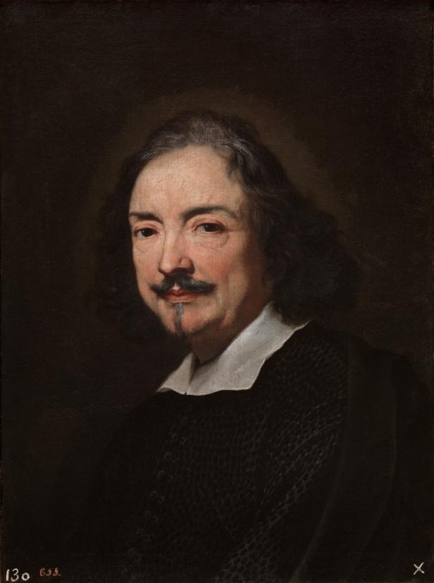Carlo Maratta: El pintor Andrea Sacchi. Madrid, Museo Nacional del Prado.