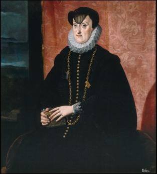 Bartolomé González: La archiduquesa María de Baviera, duquesa de Stiria. Madrid, Museo Nacional del Prado.