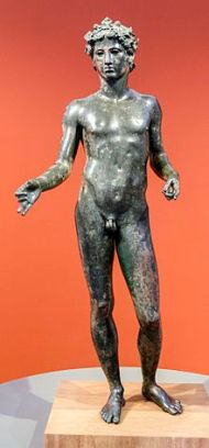 Taller romano. Efebo de Antequera. s. I a.C. foto: wikipedia