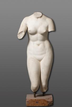 Taller romano. Venus tipo Medici. Ca 75-100. Museo del Prado. Madrid.