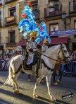 Jinetes. Fiesta barroca. IV Centenario de la construcción de la Plaza Mayor de Madrid. Foto: JCV.